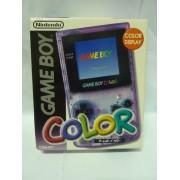 GAME BOY COLOR Pal Translucide violette complete