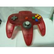 PAD N64 Clear Red (très bon état)