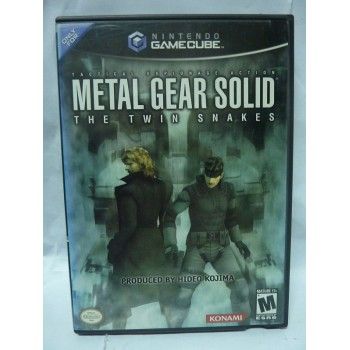 METAL GEAR TWIN SNAKES usa