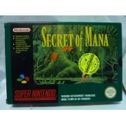 SECRET OF MANA en boite Fah (très bon état)
