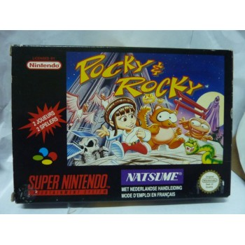 POCKY & ROCKY Fah Complet