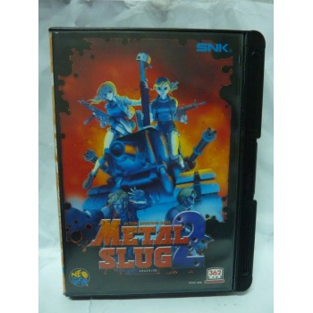 METAL SLUG 2 aes Original avec regitration card