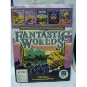FANTASTIC WORLDS (PIRATES, POPULOUS, REALMS) Atari