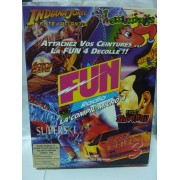COMPIL FUN RADIO Micro 4 (Indiana Jones Atlantis, Lemmings, First Samurai etc...),