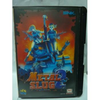 METAL SLUG 2 aes Original avec regitration card