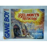 NOTICE DE CASTLEVANIA II Belmonts Revenge Game Boy