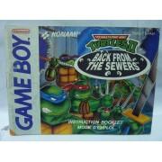 NOTICE DE Teenage Mutant Ninja Turtles II Game Boy