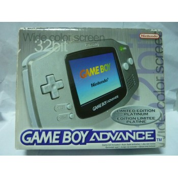 GAME BOY ADVANCE Platinum Limited