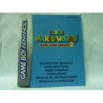 SUPER MARIO WORLD 2  game boy advance