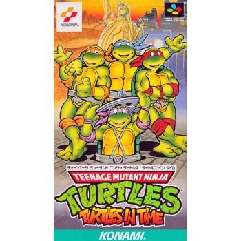 NOTICE DE TURTLES IN TIME japan