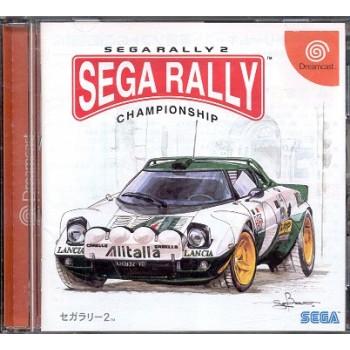 SEGA RALLY 2 jap
