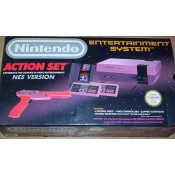 Console NES ACTION SET Complet + 2 jeux